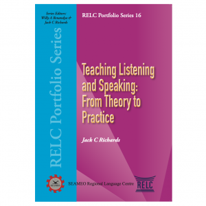 Teaching Listening and Speaking: From Theory to Practice – S$6.00
